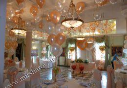 Украшение свадьбы от 15000 до 25000 руб.
