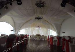 Украшение свадьбы от 35000 до 50000 руб.