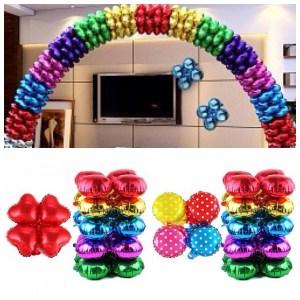 Стильная арка на новый год шариками срочно
