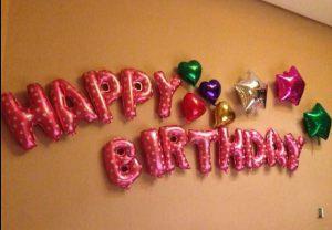 Тематическое оформление буквы новый год воздушными шариками срочно