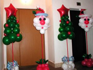 Недорогое Новогоднее украшение шарами в Москве