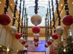 Оригинальный декор на новый год воздушными шариками недорого