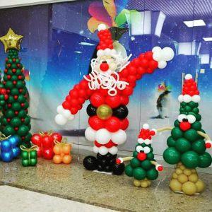 Современный декор на новый год недорого