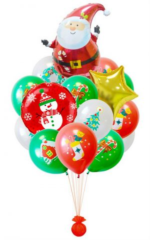 Оригинальные гелиевые шары на Новый год купить срочно