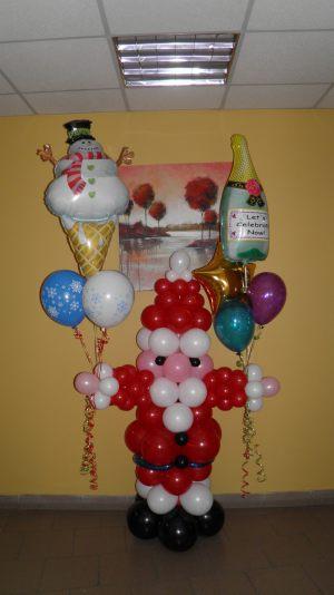 Красивые гелиевые шары на Новый год купить недорого