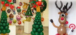 Красивые гелиевые шары на Новый год купить