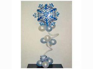 Интересные гелиевые шары на Новый год купить недорого