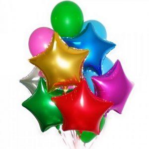 Современные гелиевые шары на Новый год купить в Москве