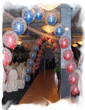 Недорогая гирлянда из шаров на Новый год в Москве