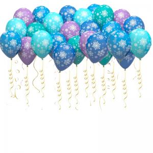 Купить шары на новый год бюджетные недорого