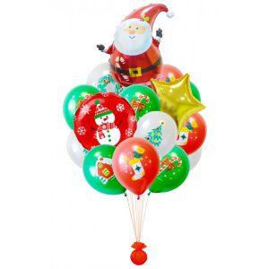 Купить шары на новый год тематические в Москве