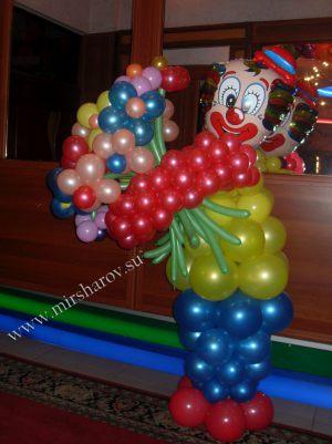 Тематическое оформление мальчику на день рождение воздушными шариками недорого