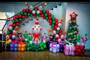 Оригинальное оформление новогоднего праздника в Москве