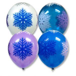Стильные большие шары на новый год в Москве