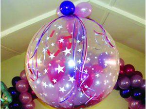 Тематические большие шары на новый год недорого