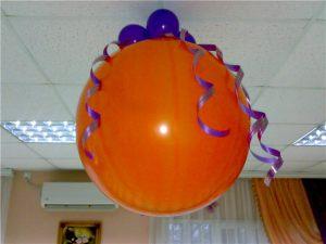 Недорогие большие шары на новый год недорого