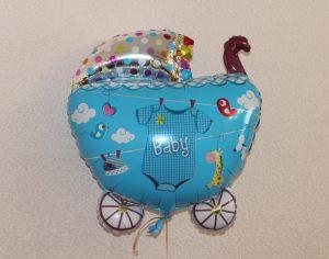 Красивые шары на выписку из роддома для мальчика недорого
