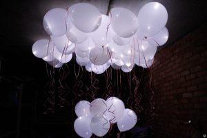 Интересные светящиеся шары на новый год срочно
