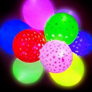 Современные светящиеся шары на новый год
