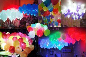 Стильные светящиеся шары на новый год срочно