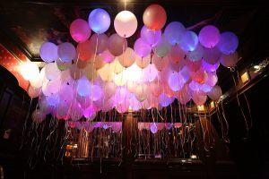 Оригинальные светящиеся шары на новый год