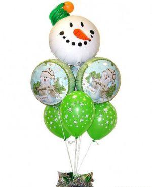 Бюджетные шарики на новый год в Москве