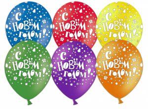 Красивые шарики на новый год шарами недорого