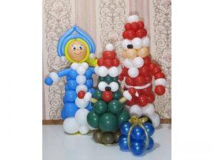 Стильные шарики на новый год шариками срочно