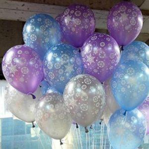 Оригинальные шарики на новый год шарами