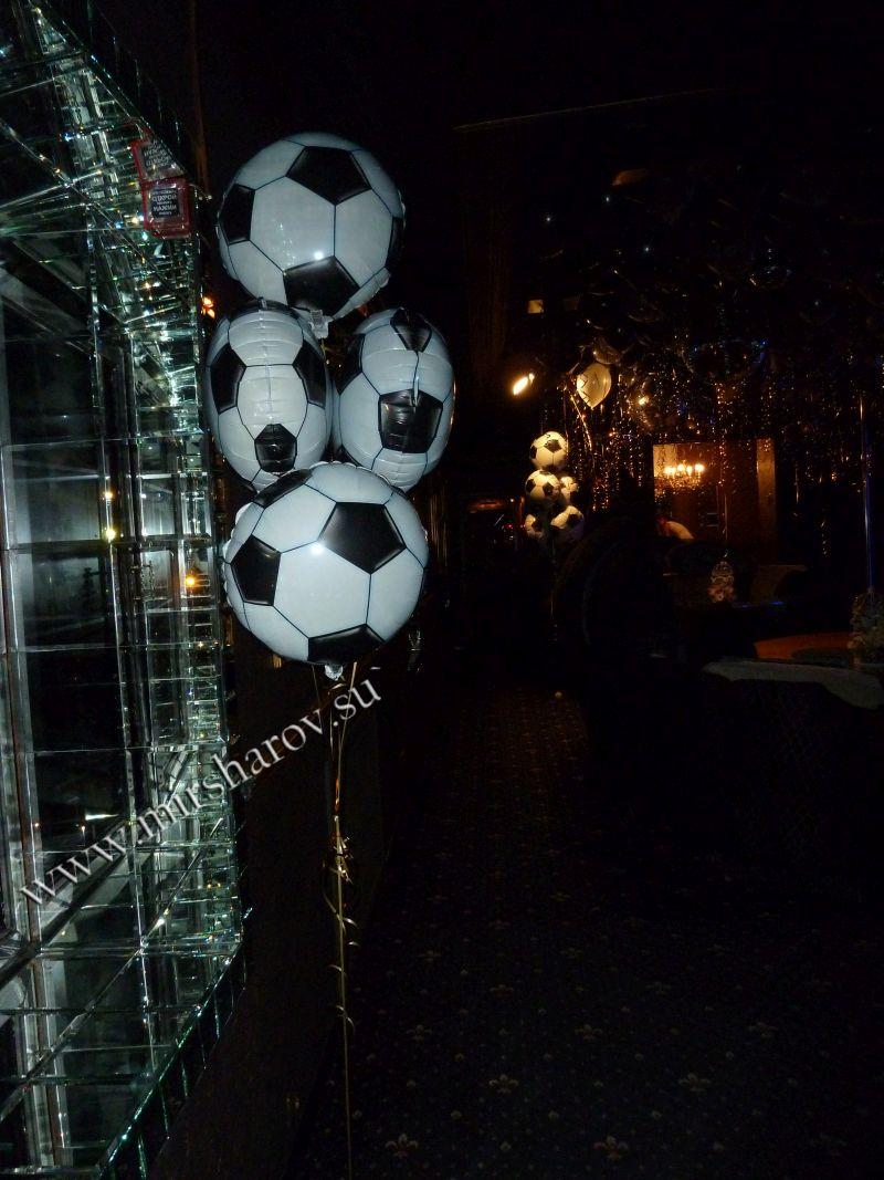 Стильное оформление детского дня рождения воздушными шариками в Москве
