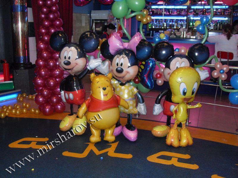 Стильное оформление детского дня рождения воздушными шарами срочно