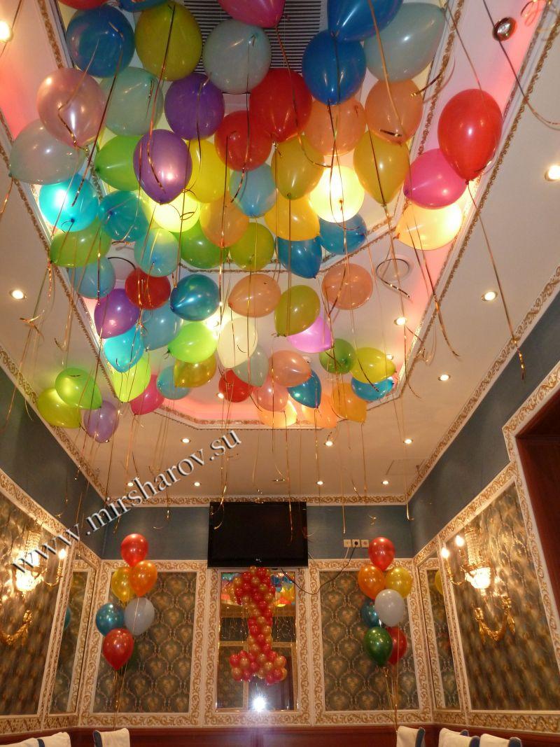 Современное оформление детского дня рождения шарами