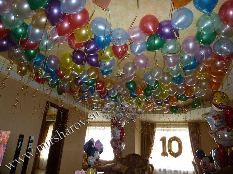 Тематическое оформление детского дня рождения шарами