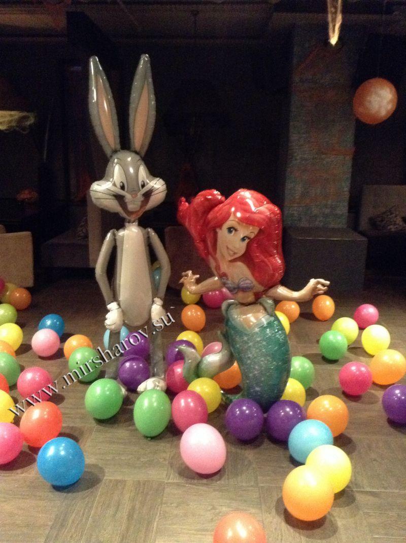 Недорогое оформление детского дня рождения воздушными шарами срочно