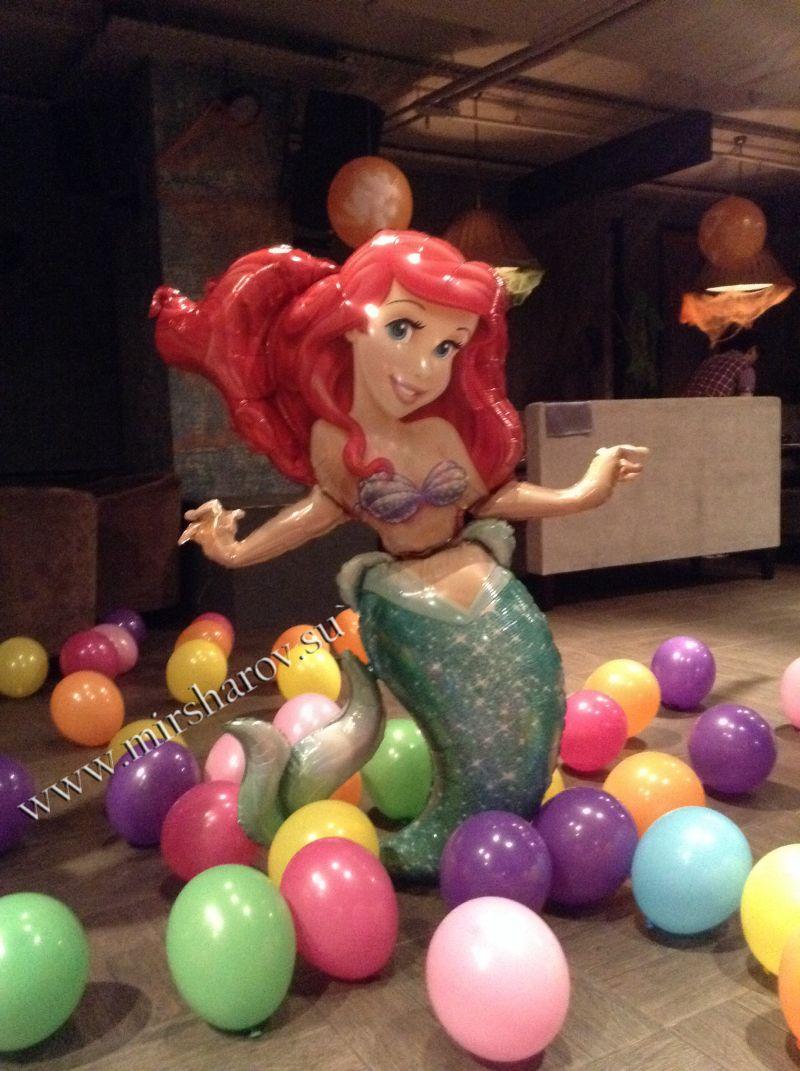Интересное оформление детского дня рождения воздушными шарами срочно