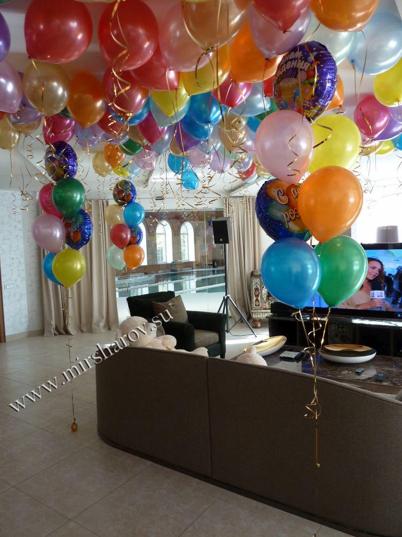 Интересное оформление детского дня рождения воздушными шариками в Москве