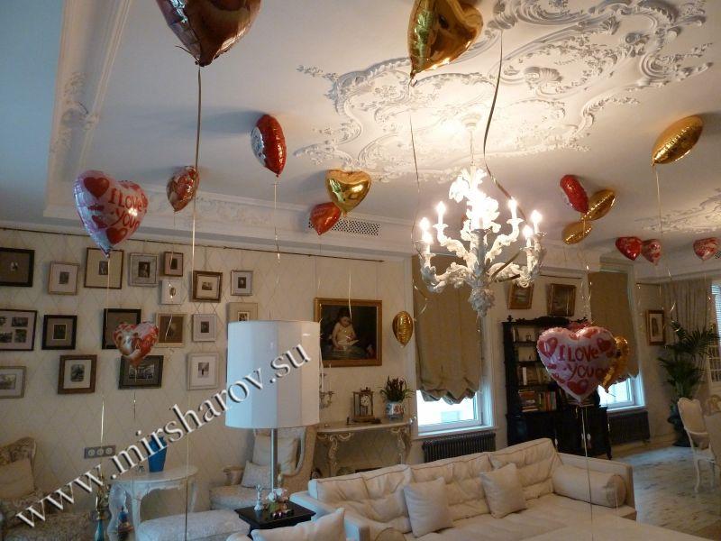 Стильное оформление женщине дня рождения воздушными шариками срочно