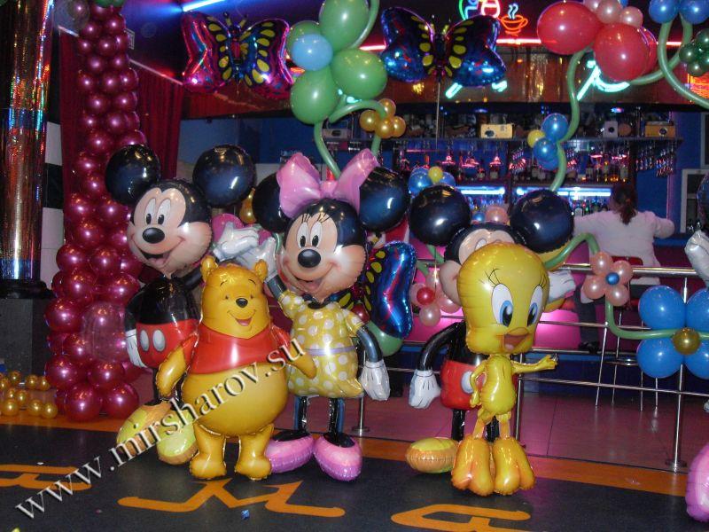 Тематическое оформление первого дня рождения воздушными шарами срочно