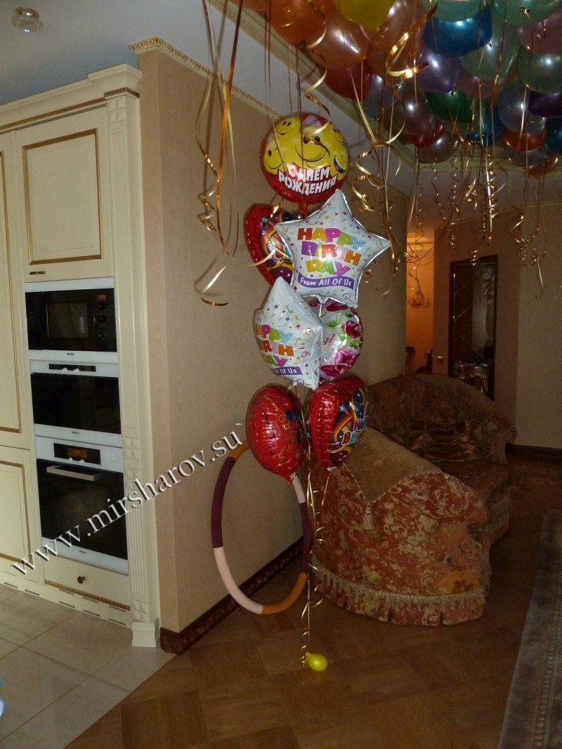 Фольгированные шары - от 180 руб.