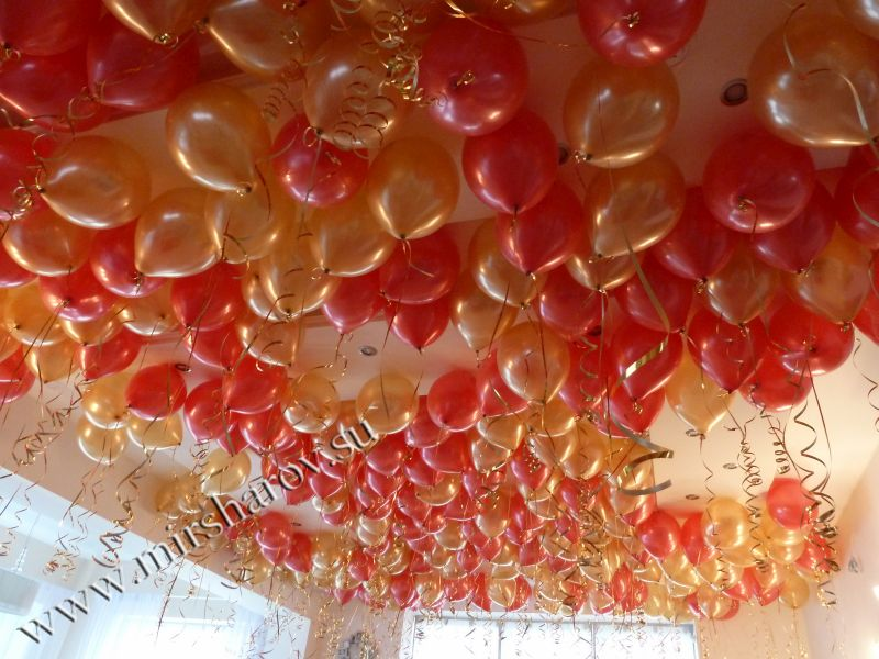 Гелиевые шары - 35 руб.