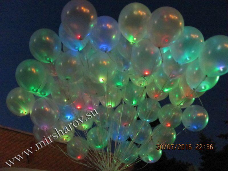 Светящиеся шары - 65 руб.