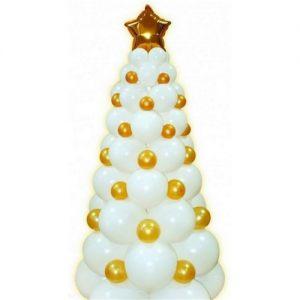 Стильная елка из шаров на новый год шарами срочно