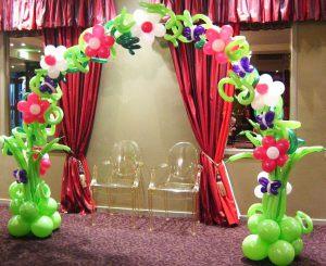 Недорогое оформление кабинета на день рождение шарами недорого