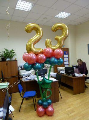 Необычное оформление кабинета на день рождение срочно
