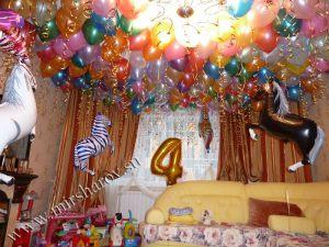 Тематическое оформление квартиры на день рождение недорого