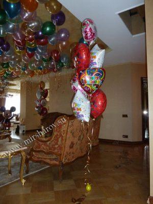 Оригинальное оформление квартиры на день рождение в Москве