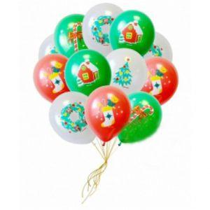 Стильные надувные шары на Новый год срочно