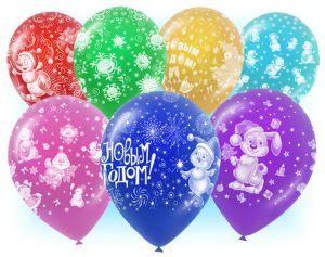 Недорогие надувные шары на Новый год в Москве