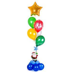 Оригинальные надувные шары на Новый год недорого