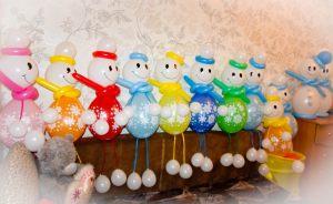 Интересные надувные шары на Новый год срочно